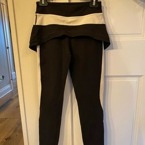 Lululemon Capri pant with skirt attached